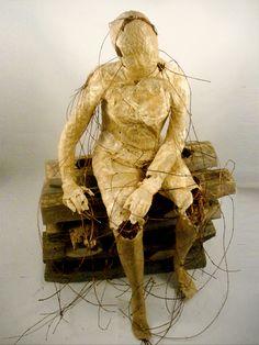 Sculpture by Marta Kepka
