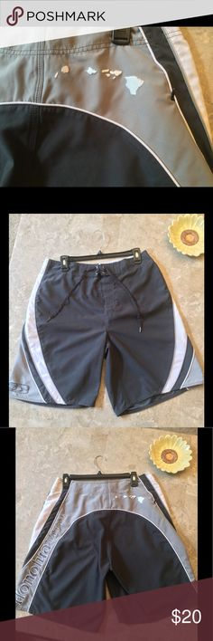 Men's Board Shorts Honolua surf co, like new board shorts, have zip pocket, premium detailing, perfect for vacation! Honolua Hawaii Swim Swim Trunks