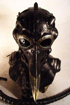 Bob Basset's Lair – Steampunk Pinocchio Pilot Mask.