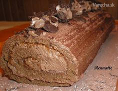 Čokoládová roláda (fotorecept)  http://varecha.pravda.sk/recepty/cokoladova-rolada-fotorecept/35563-recept.html