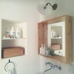 Bathroom/無印良品/IKEA/収納/シンプル/漆喰...などのインテリア実例 - 2016-07-09 06:04:04