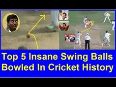 In Cricket History Top 5 Insane Swing Balls Bowled  Updated 2016