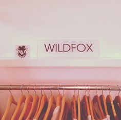 New Wildfox POP decorating the showroom