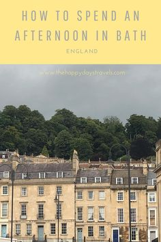 Visiting Bath from South Wales takes just over an hour by car and is well worth a day visit to West of England. Read on for my Sunday afternoon in Bath and things to do in Bath besides the usual Bath activities. This is a great itinerary for a Bath day trip for England staycations and weekend UK break. Repin to UK Day Trip Boards / UK Travel Boards #VisitUK #VisitEngland #VisitBath #BathDayTrip #CityOfBath #BathEngland #BathUK #WhatToDoInBath Visit Bath, Moving To Barcelona, Visit Uk, Working Holidays, Best Places To Travel, South Wales, Travel Couple, Carpe Diem, European Travel