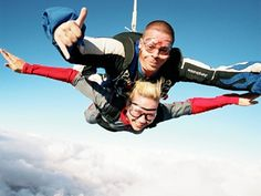 The Highest Tandem Skydive in the UK