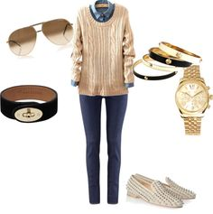 """""""Casual Friday"""" by makenzieambrose on Polyvore"""