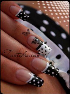 ♥ Nail Art On My Natural Nails