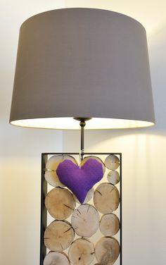 Lampe mit Herz Sprinkler, Led, Shades, Lighting, Vintage, Home Decor, Apartments, Big Living Rooms, Living Room Modern