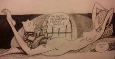 Grandi domande... #comics #Rosenzweig #ZigoStella #Ghigo