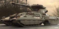 More HALO ANNIVERSARY work - Scorpion tank , Reno Levi on ArtStation at http://www.artstation.com/artwork/more-halo-anniversary-work-scorpion-tank