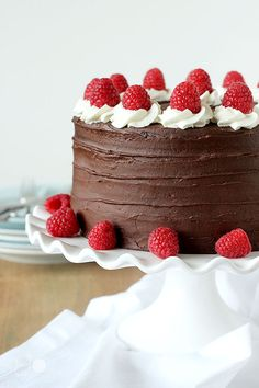 chocolate raspberry cake this is an amazing recipe Cakes
