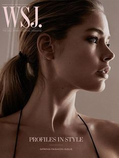 ec404a2f6ed WSJ - WSJ March 2015 Cover    In this picture Doutzen Kroes