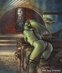 clone wars jabba the hutt   Oola (Character) - Comic Vine