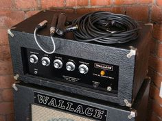 WALLACE AC 3500 XT MKII (Est 1938) VOX-EY  EF86 pre.Think KINKS! Very interactive Bass-Mid Gain, Mid-High Gain, X.T. Gain & MV Controls.. WALLACE was a true pioneer & well ahead of the pack. Hand built, reliable & loud! Fave of RAY DAVIES & JOHN PAUL JONES, JIMMY PAGE & MANFRED MANN before Clean n'Bright tone was out of fashion. Instead of trends or marketing  WALLACE focused on high powered amps. Big '70s bands toured w/his PA & Bass rigs + 40 yrs of production & he's still unknown.