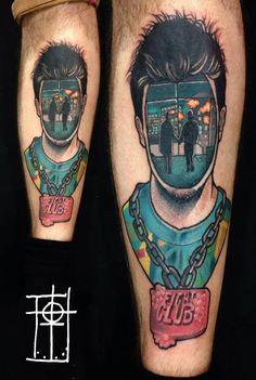 Tattoo by Neto Lobo