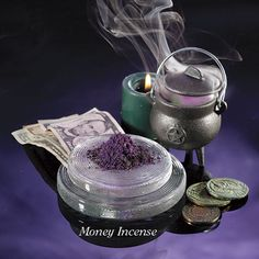 Laurie Cabot Money Incense  & midnight sex incense