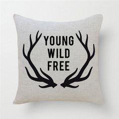 Linge taie d'oreiller géométrique de Deer housse de coussin Style nordique décoratifs pour la maison de taie d'oreiller 45 x 45 cm dans Couvre-coussin de Maison & Jardin sur AliExpress.com   Alibaba Group