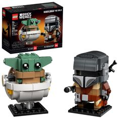 Right now at Walmart, you can get this LEGO BrickHeadz Star Wars The Mandalorian & The Child 75317 Building Kit (295 Pieces) for only $16 (reg. $19.99). You save 20% off the retail price for this LEGO building kit. Plus, this item ships free over $35. Deal may expire soon. Lego Star Wars, Star Trek, Chasseur De Primes, Building Toys For Kids, Sabre Laser, Construction Lego, Boba Fett, Lego Boxes, Star Wars Personajes