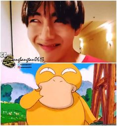 Psyyyyyduck TaeTae. So you're trying to say all this time psyduck is thinking naughty thoughts