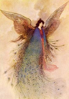 Moon Maiden by Warwick Goble