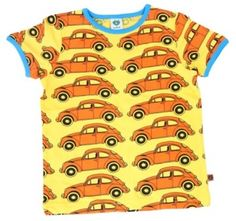 VW Beetle Cars T-shirt in yellow - £17.99. From the Smafolk Summer 13 collection.