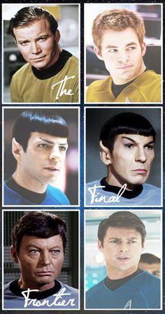 Star Trek: The old vs. the new.