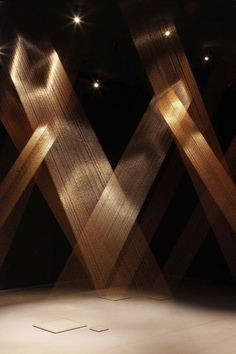 Lygia Pape – Magnetized Space | Abitare En Inspires a northern lights and fantastical quality.