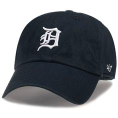 online store 2ae3e 6c225 Love the Old English  D  Detroit Tigers Clean Up Adjustable Home Cap by