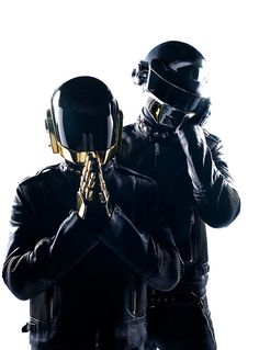Daft Punk by Jay Brooks, 2007