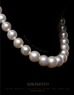 I love my Mikimoto  pearls James & Sons Jewelry