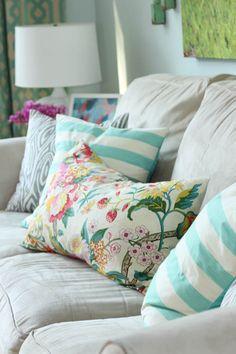 Idee per decorare la camera da letto - Cuscini decorativi ...