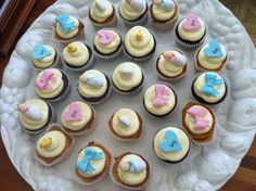 simple homemade baby shower cakes for girls RECIPES | Baby Shower Cupcakes