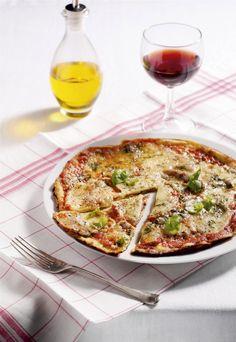 Pizza-pannenkoek - Libelle Lekker