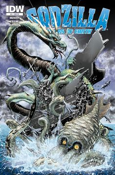 GODZILLA:RULERS OF EARTH 03 cover by ~Zornow