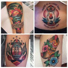 Some tattoos by @chantel_666  trailertrashtattoo @trailertrashtattoo Instagram photos   Websta (Webstagram)