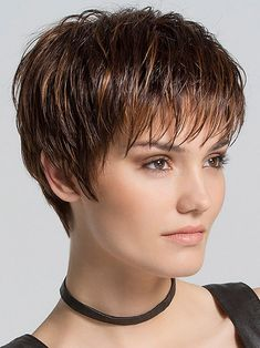 Scape by Ellen Wille Wigs - Hand Tied, Monofilament Crown, Lace Front Wig - kurzhaarfrisuren Short Pixie Haircuts, Pixie Hairstyles, Short Hairstyles For Women, Layered Hairstyles, Celebrity Hairstyles, Boy Haircuts, Modern Haircuts, Hairstyle Men, Men's Hairstyles