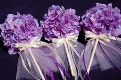 Items similar to Set of Three Purple and Cream Flower Girl Wands on Etsy Wedding Stuff, Our Wedding, Wedding Flowers, Dream Wedding, Wedding Ideas, Flower Girl Wand, Flower Girls, Little Girl Dancing, Fairy Wands