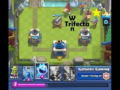 TRIFECTA GAMEPLAY - CLASH ROYALE