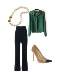 Dress to Impress // What to wear to career fairs and information sessions to help you score your dream internship