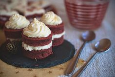 red velvet mini cakes - Red velvet cooking & baking