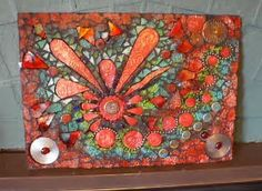Image result for River Glass Mosaic Tile Art