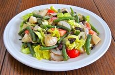 A simple Raw and Cooked Salad with complex flavor & texture in every satisfying bite. Buon appetito!