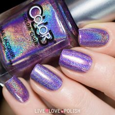 Swatch of Color Club Eternal Beauty Nail Polish (Halo Hues Collection)