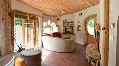 Inside a cob home is magical