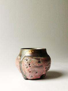 // Ryota Aoki; Glazed Ceramic 'Dianthus Planet Pot', 2014.