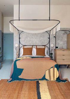Bermonds Locke, Bermondsey Design Hotel Places In California, Sunny California, Hippie Stil, Hotel Room Design, Property Design, Hotel Branding, Hotel Interiors, London Hotels, Soft Furnishings
