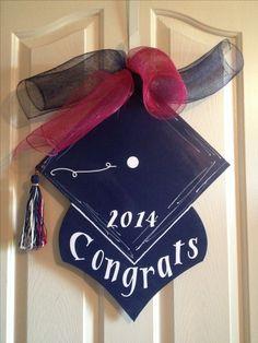 Graduation door hanger