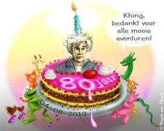 Mijn leermeester Thé Tjong Khing 80 jaar in 2013! ****digitale prentenboeken
