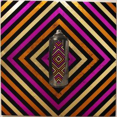 Rennie's geometric message sticks incorporate elements of an urban graffiti subculture, juxtaposing a contemporary representation of traditional iconography and an exploration of identity. Neon acid-bright pop art aesthetics provide a sophisticated insight into the identity of a contemporary Aboriginal artist.