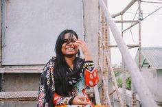 portrait of a beautiful bengali woman outdoor